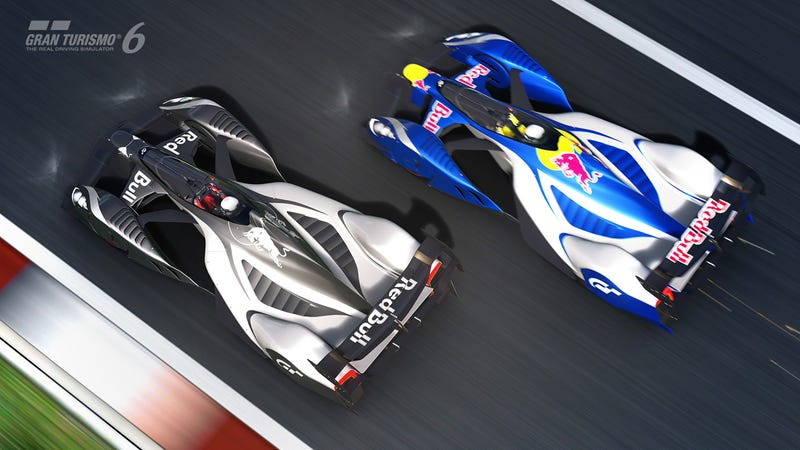 Illustration for article titled GT6 1.04 Includes X2014, Tuned C7 & AMG Vision Concept Racecar