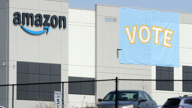 Union Moves for Results of Amazon Vote in Alabama to Be Invalidated