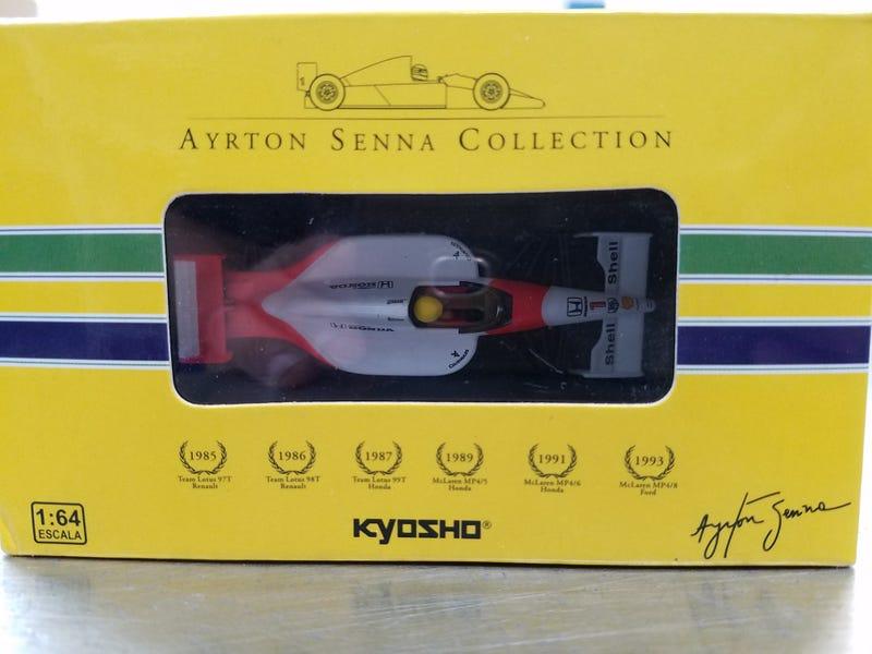 Illustration for article titled 1:64 Kyosho McLaren-Honda MP4/6