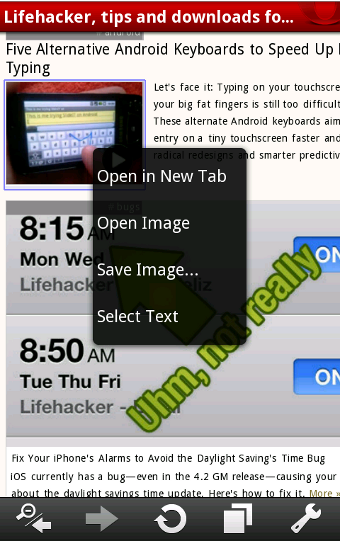 Illustration for article titled Opera Mobile 10.1 Beta Brings Turbo-Cached Browsing to Android