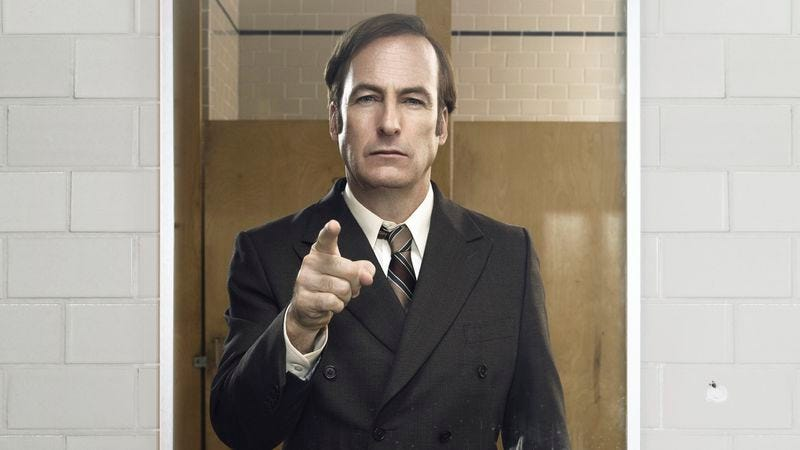 Illustration for article titled Are you talking to Bob Odenkirk in this exclusive Better Call Saul image?