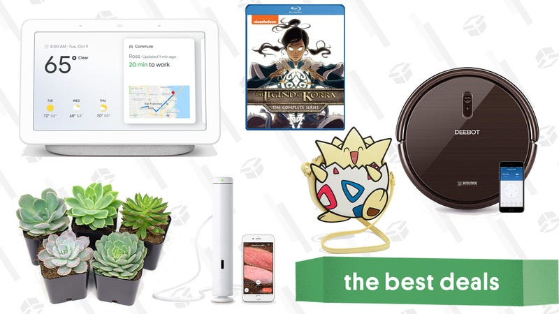 Wednesday's Best Deals: Google Home Hub, Ecovacs, JetBlue Sale, and More