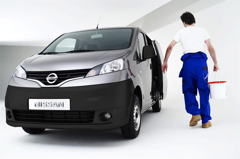 Illustration for article titled Nissan NV200: New Small Van Carries Cargo, People To Geneva