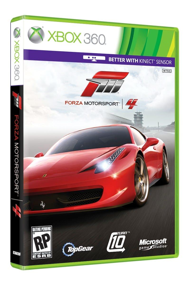 Illustration for article titled Forza Motorsport 4: Five pre-order cars show off showroom shine