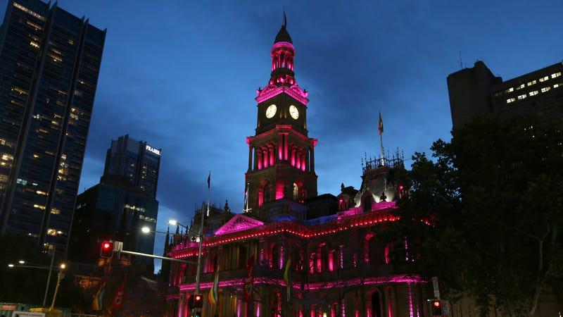 Sydney's Town Hall (Image via AP)