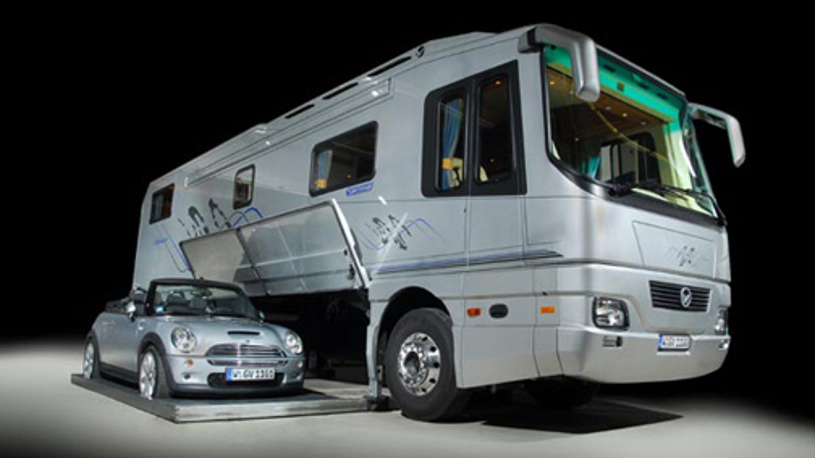 Volkner Mobil Car Carrying Motor Home Could Be Yours For