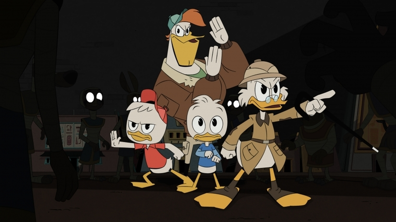From the modern iteration of DuckTales.