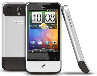Illustration for article titled The HTC Legend Traps Android 2.1 in Unibody Aluminum