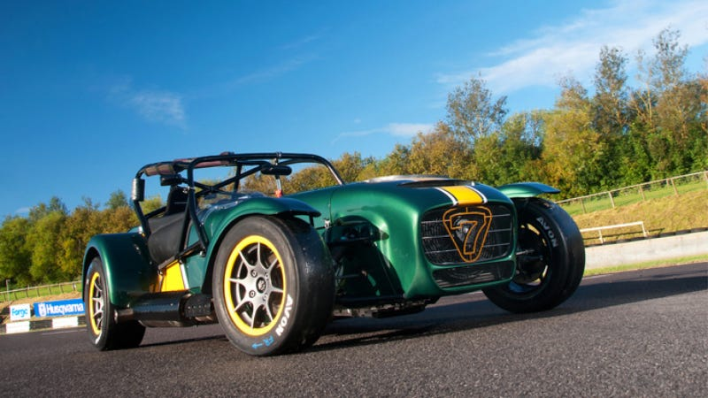 Illustration for article titled Caterham Supercharges The Seven To Attract Clinically Insane Speedfreaks