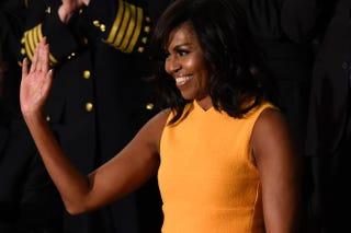 First lady Michelle Obama SAUL LOEB/AFP/Getty Images