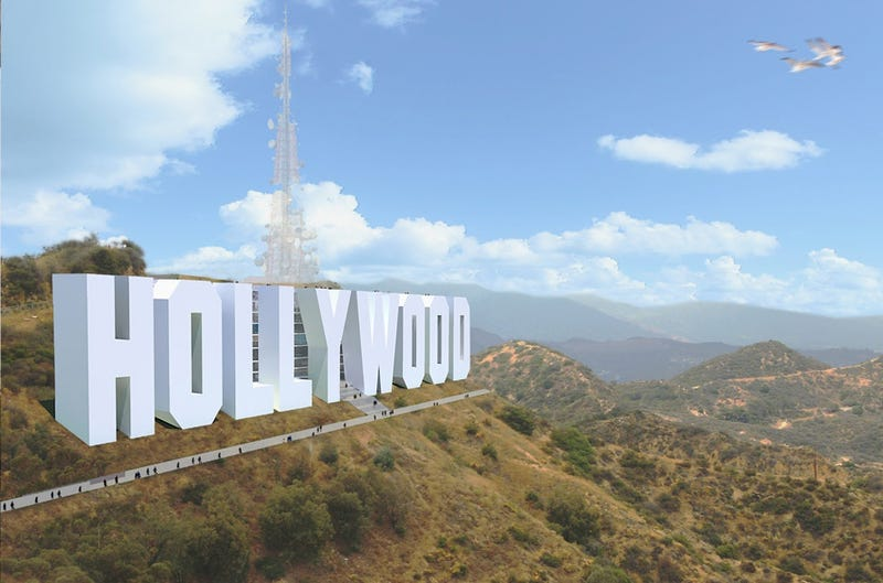 Illustration for article titled Hollywood Sign Turned Into Hotel