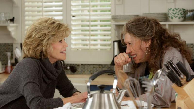 Illustration for article titled Netflix renews Grace And Frankie for a third season