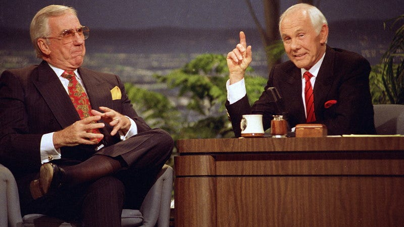 Image result for tonight show starring johnny carson