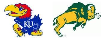 Illustration for article titled NCAA First Round: (3) Kansas vs. (14) North Dakota State
