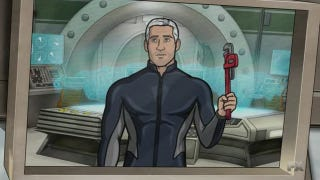 Illustration for article titled The Season Finale of Archer gives us a glimpse at the origins of Sealab