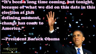Illustration for article titled Quote of the Day: President Barack Obama on 2008 Election