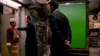 Illustration for article titled Is there unfinished green screen in the new Men In Black 3 trailer?
