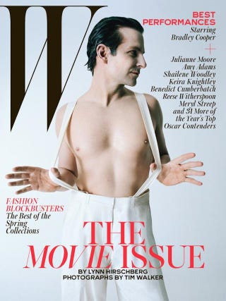 Illustration for article titled What the Hell Did W Magazine Do to Bradley Cooper?