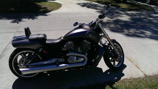 My weekend with the VRod muscle