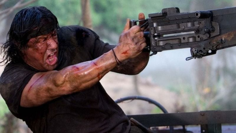 Illustration for article titled Sylvester Stallone may star in a Rambo television series (as Rambo)
