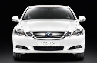 Illustration for article titled Lexus GS 450h Gets Tweaked For 2010