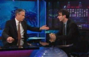 Jon Stewart and John Oliver (Comedy Central)