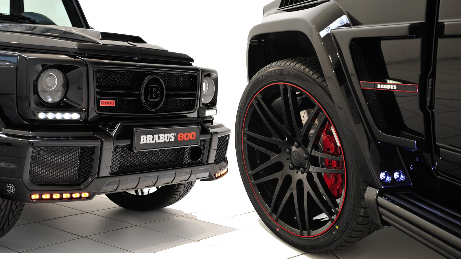 Brabus g wagen has biturbo v12 1047 lb ft of torque and for Mercedes benz g wagon v12