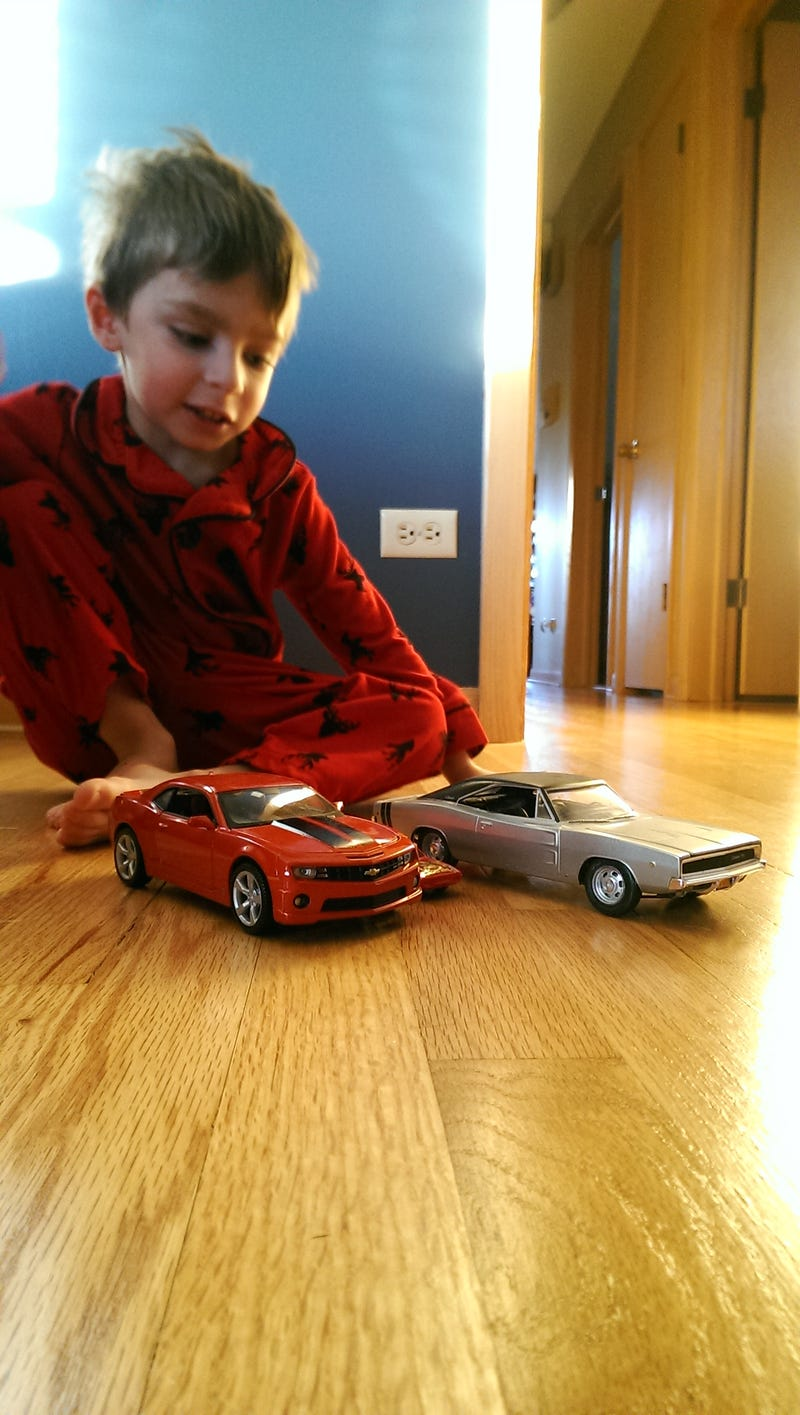 Illustration for article titled I told my nephew I could make the cars bigger