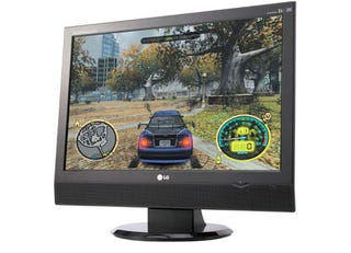 Illustration for article titled Hybrid LG Monitor Packs HDMI and 1080p Support