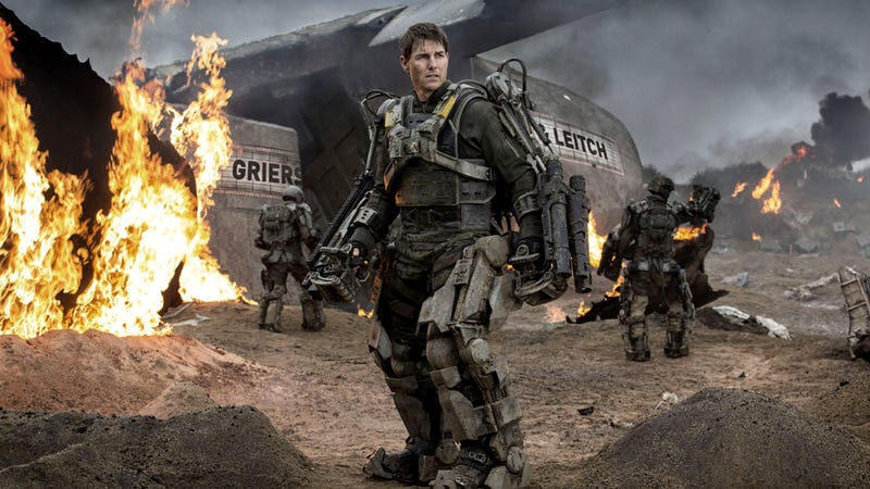 Illustration for article titled Groundhog Day Goes Sci-Fi: Edge Of Tomorrow, Reviewed.