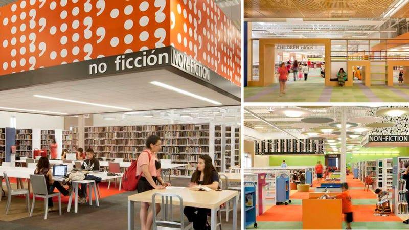 Convierten un centro comercial abandonado en esta asombrosa biblioteca