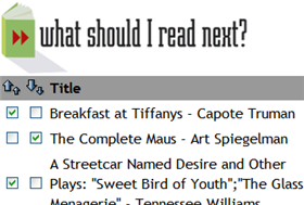 """Illustration for article titled """"What Should I Read Next?"""" Like Last.fm for Books"""