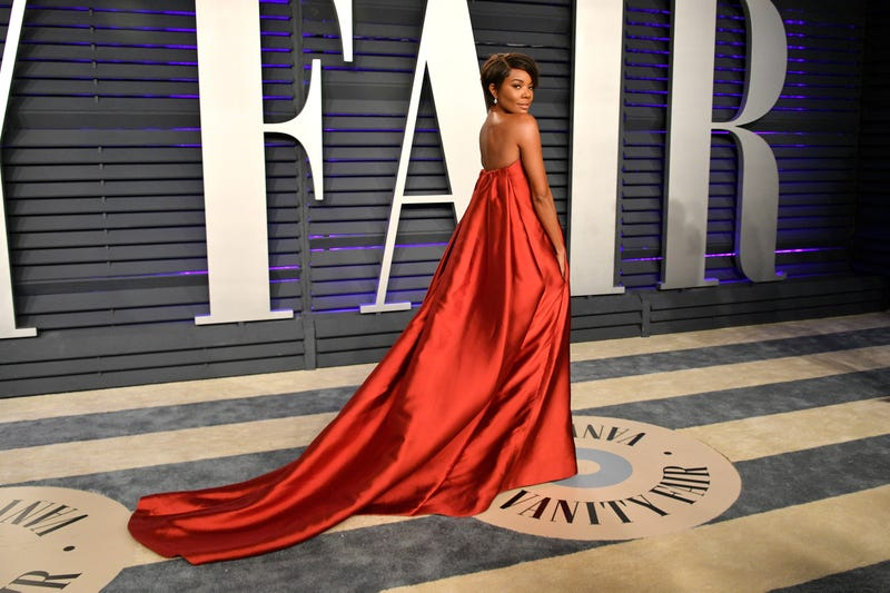 Gabrielle Union attends the 2019 Vanity Fair Oscar Party hosted by Radhika Jones on February 24, 2019 in Beverly Hills, California.