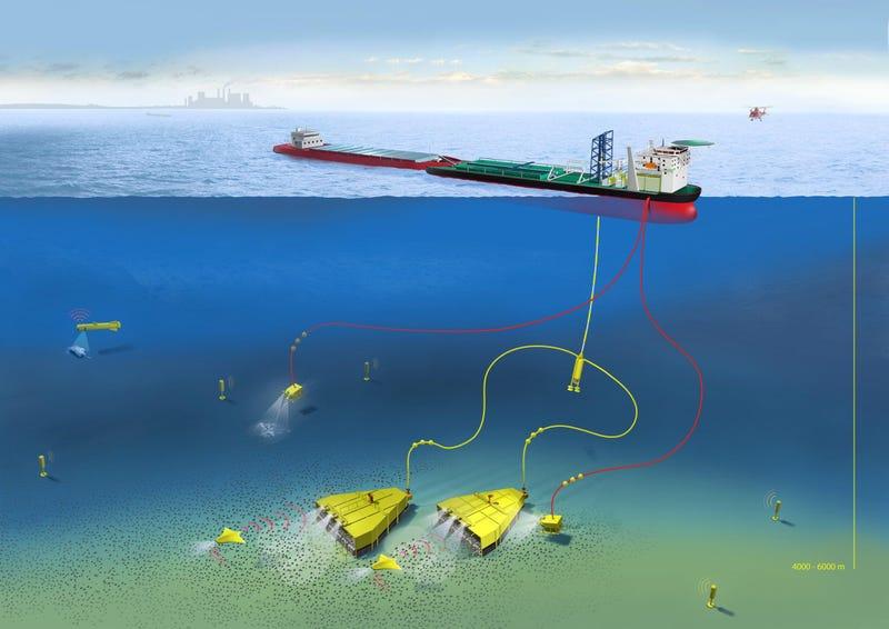 mining ocean sea deep floor nodules technology future zealand manganese seabed nodule protection exploration study system mine hiding tech concept