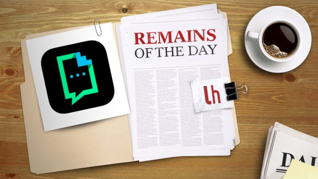 Remains of the Day: Giphy Keys for iOS Puts GIFs at Your Fingertips