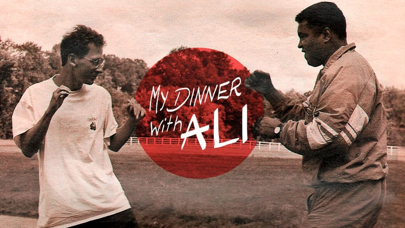 Illustration for article titled My Dinner With Ali