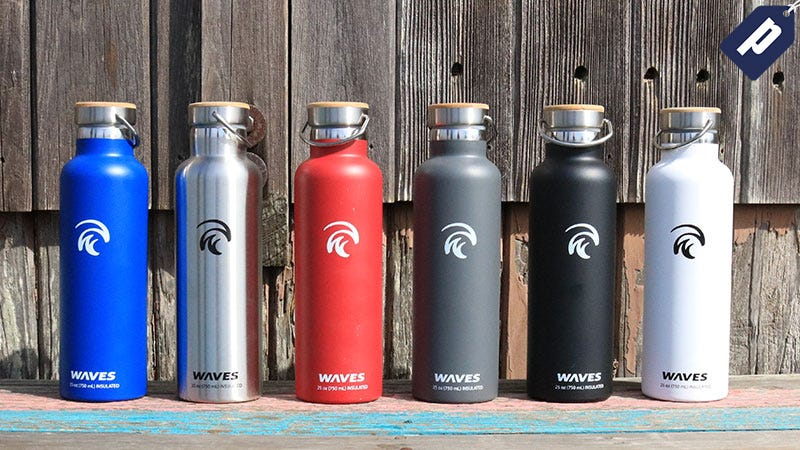 Illustration for article titled This Insulated Forever Cold Bottle Will Keep You Hydrated Anywhere (50% Off)