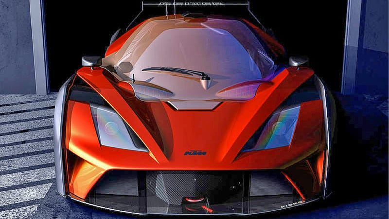 Illustration for article titled Next KTM X-Bow Will Be One Very Angry Looking 'Bargain Race Car'
