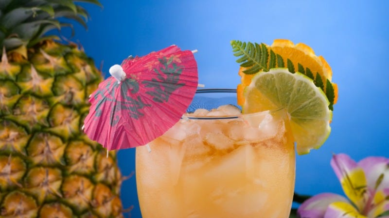Illustration for article titled Make Your Own Tiki Cocktails with This Easy Formula