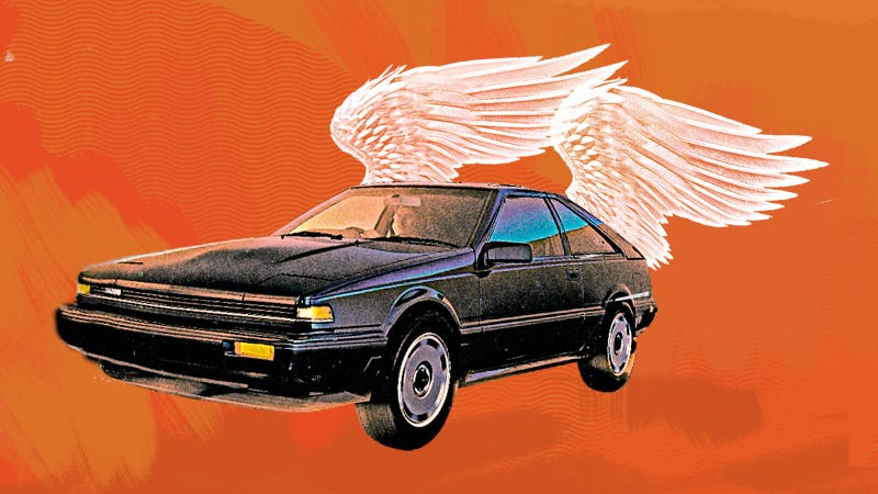 Illustration for article titled The Emergency Nissan 200SX Repair That Might Have Been Overseen By A Guardian Angel