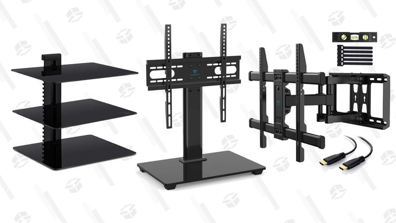 PERLESMITH TV Wall Mounts and Stands Gold Box | Amazon