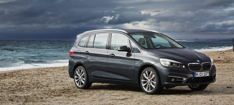 Illustration for article titled 2016 BMW 2-Series Gran Tourer: Meet BMW's New Mini-Minivan