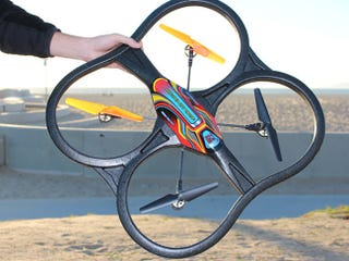 Illustration for article titled Get 55% Off The Panther Air Drone + HD Camera