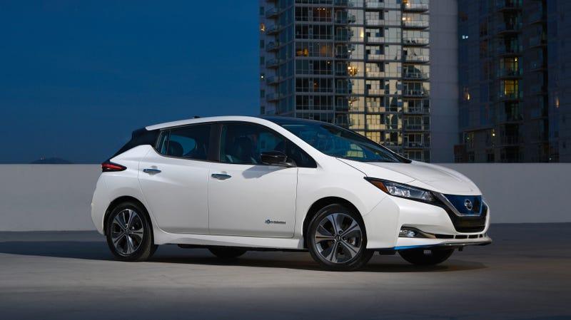 Illustration for article titled Nissan Leaf Plus Extends Range to an Impressive 226 Miles