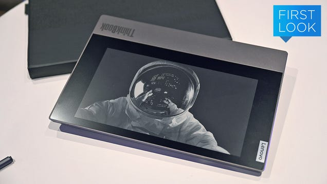 Lenovo Can t Quit Putting E-Ink Screens in Things, and It s Awesome