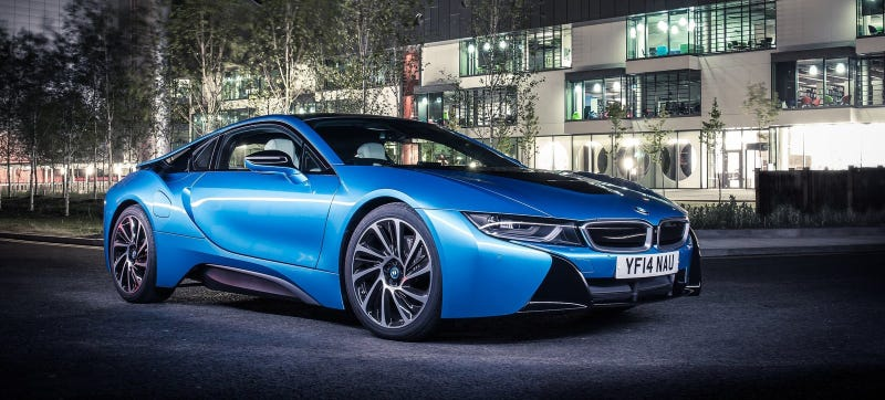 Illustration for article titled The BMW i8S Might Be A 500 HP Centennial Supercar