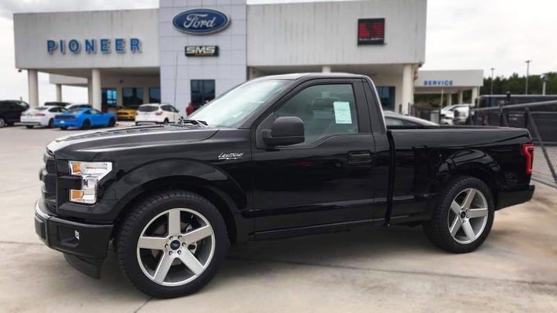a brilliant ford dealer just brought the f 150 lightning back
