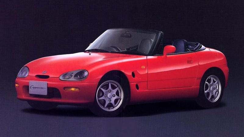 Illustration for article titled Put Your Butt In A Suzuki Cappuccino