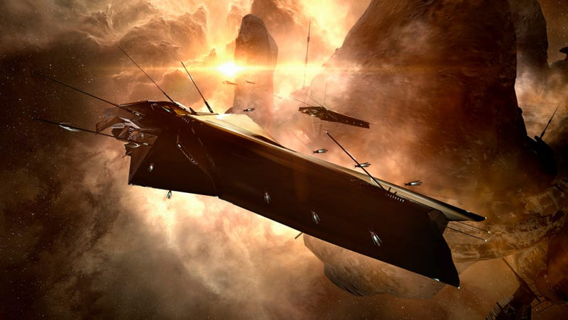 Illustration for article titled Another Alien Faction Is Waging War In EVE Online