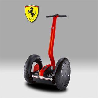 Illustration for article titled Ferrari Segway PT i2 Is not Faster than Regular Segway